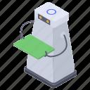 artificial intelligence, humanoid, humanoid robot assistant, mechanical human, robotics icon