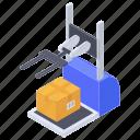 assembling robot, logistic robot, logistic robot picker, package picker, sprue picker