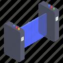 automatic turnstile, door sensor, security turnstile, security turnstile access, turnstile gate icon
