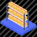 product storage, rack, store shelf, storehouse, warehouse product shelf