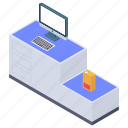 checkout system, pos system, self checkout machine, self scanning, self service checkout icon