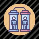 clone, cloning, cloning machine, duplicate icon