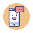 chat, conversation, messaging, texting icon