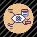 augmentation, eyetap, eyetap augmented reality, technology icon