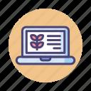 laptop, macbook, website icon