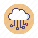 cloud, cloud architecture, cloud network, internet of things, network, storage icon