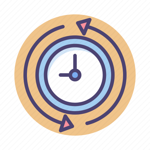 time, time travel, travelling icon