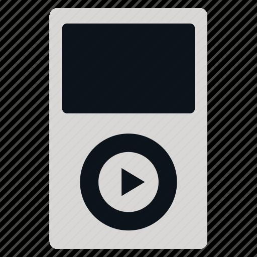 gadget, listen, pod, recordings, songs, sound icon