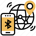 bluetooth, connection, location, networking, tracking