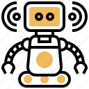 assistant, cyborg, personal, robot, machine icon