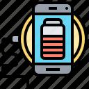 battery, charging, phone, power, wireless