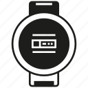 clock, device, gadget, smartwatch, watch icon