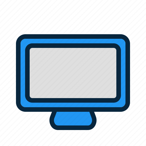 computer, display, hardware, monitor, screen, tv icon