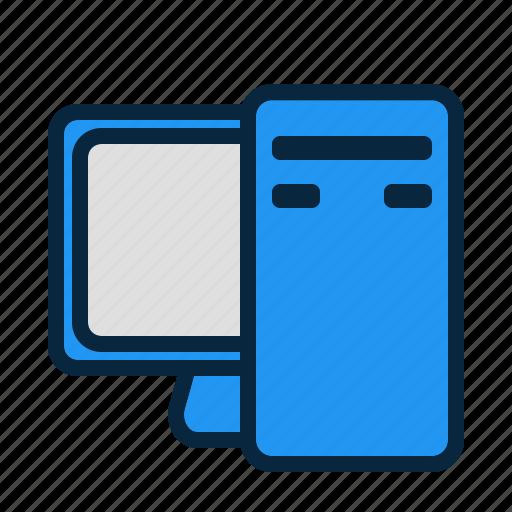 computer, desktop, hardware, pc icon