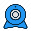 camera, cctv, securitycam, webcam icon