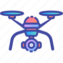 camera, drone, gadget, propeller, quadrocopter, remote, uav icon