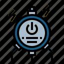charging, energy, plug, station, technology icon