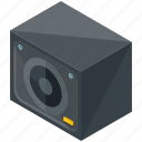 amplifier, device, gadget, multimedia, sound, speaker icon