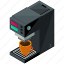 coffee, device, gadget, kitchen, machine, maker icon