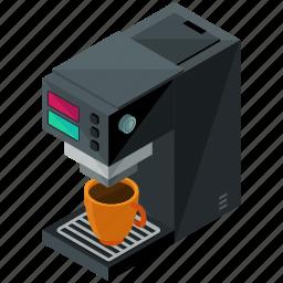 coffee, device, gadget, kitchen, machine, maker icon