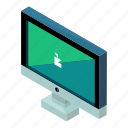 computer, device, gadget, monitor, pc, technology icon