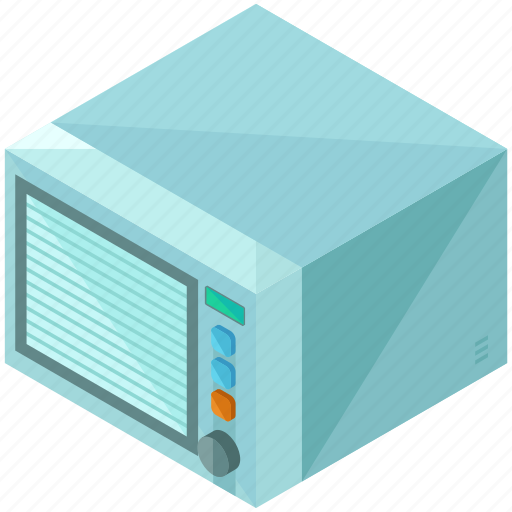 cook, food, gadget, heat, home, kitchen, microwave icon