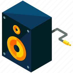 device, electronic, gadget, multimedia, music, speaker icon