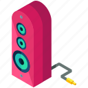 device, electronic, gadget, multimedia, music, speaker icon