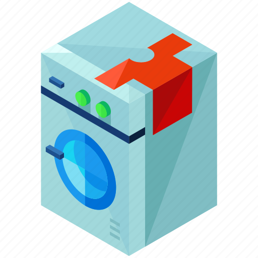 device, electronic, gadget, home, machine, washing icon