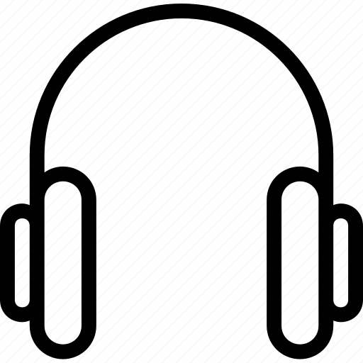 entertainment, equipment, gadgets, headphones icon