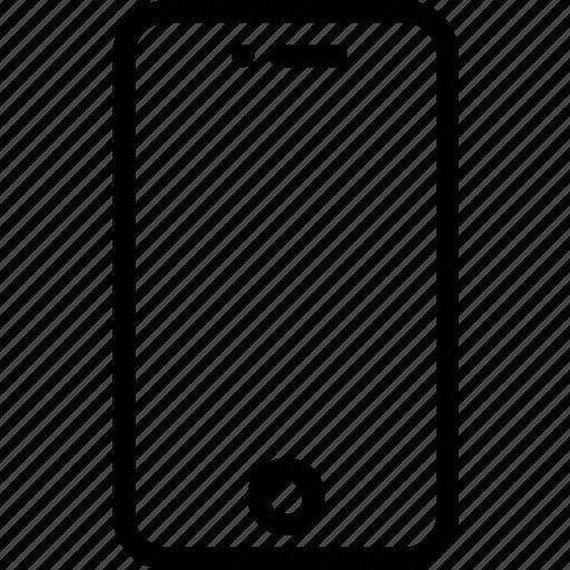 entertainment, equipment, gadgets, phone, plain, smart icon