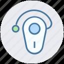 headset, headphone, headset hook, handsfree connectivity, bluetooth headset icon