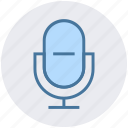 audio, mic, microphone, recoding, singing, sound icon