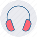 earphone, headphone, headset, listen, music, telemarketer icon