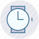 clock, gadget, hand watch, smart watch, time, watch icon