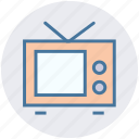 display, entertainment, screen, television, tv, watch icon