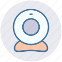 cam, camera, video, video camera, webcam icon