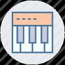 gadget, instrument, midi, music, piano, synthesizer icon