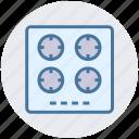 appliance, cook, electro, gas, kitchen, stove icon