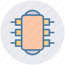 cpu, device, electric, gadget icon