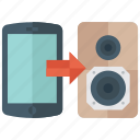 connectivity, data transfer, device connection, internet connection, mobile connection, network connection icon