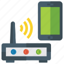 internet connection, modem, network router, wifi router, wireless router icon