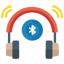 audio music, bluetooth music, listening music, listening song, music play icon