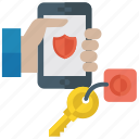 antivirus app, cm security, mobile security, security app, smartphone protection icon