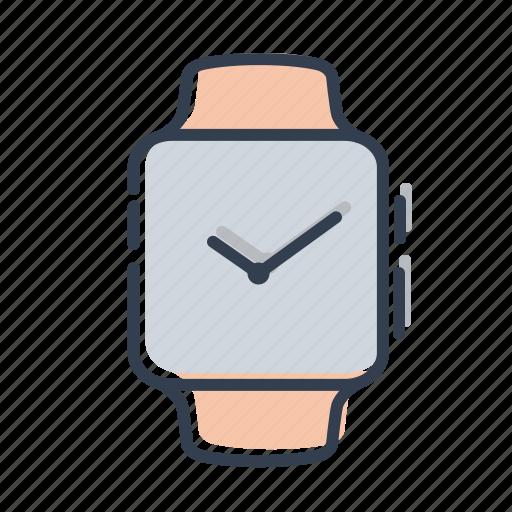 apple, clock, gadjet, watch icon