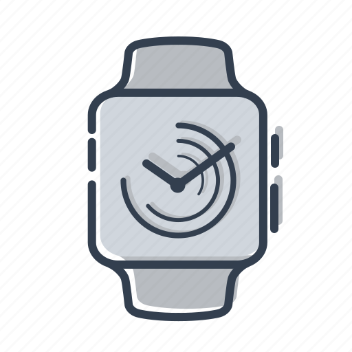apple, clock, dial, gadjet, time, watch icon
