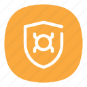 anti, badge, bug, guard, protection, report, virus icon