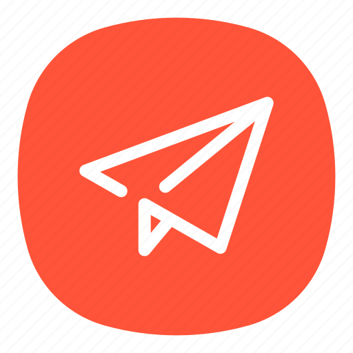 account, email, mail, message, paper, plane, sending icon