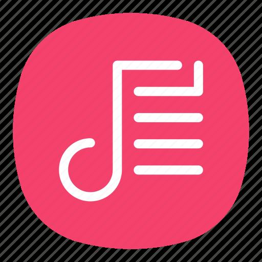 list, music, play, player, playlist, store, tracks icon