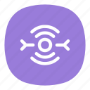 antenna, connection, hotspot, internet, signal, wifi, wireless icon